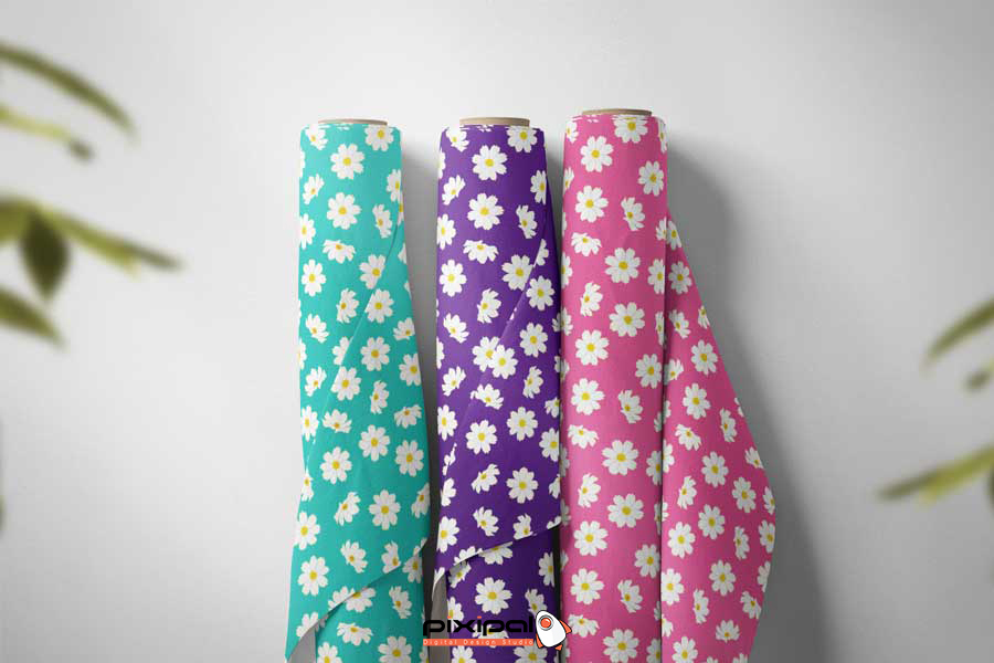 Free Fabric Clothes flower1